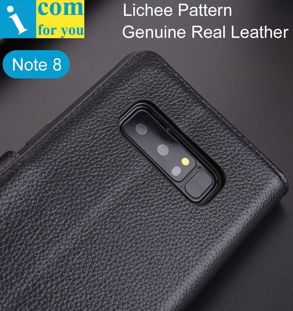 Личи Pattern Кожа флип чехол для Samsung Galaxy Note 8 Note8 deluxe Роскошный кошелек Внутренняя ТПУ