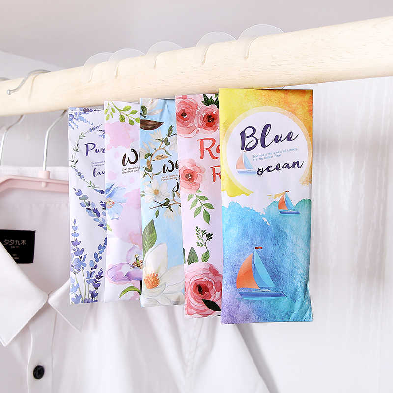Home Fragrance  sachet cheap bags lavender  wardrobe deodorant sachets bedroom room vanilla sachets portable car  aromatherapy