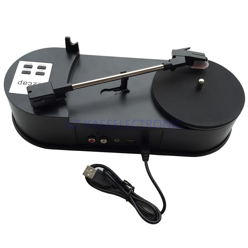 2017 New turntable player converter, convert vinyl turntable to mp3 directly into USB Driver or TF Card, Free shipping
