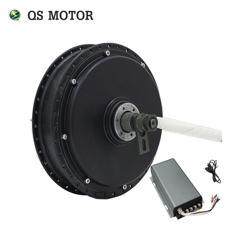 100KPH QS Motor Bicycle Spoke hub motor 3000W 205 50H V3 Type with SVMC72150 controller100KPH QS Motor Bicycle Spoke hub motor 3000W 205 50H V3 Type with SVMC72150 controller
