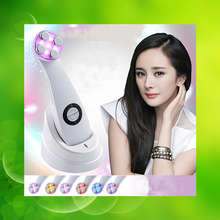 New Arrival Skin Renewal System Ultrasonic Photon Ion Beauty Care Device Face Massager Facial Skin Care Free Shipping