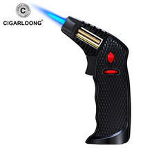 Cigar Lighters wholesale Straight Windproof Spray Gun large Lighter CB-0111