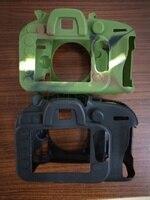 Yumuşak Silikon Kauçuk Kamera Koruyucu Vücut Nikon D610 D600 Kamera Çantası Için Kapak Case Cilt
