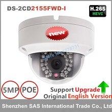 Hikvision Original English Version Surveillance Camera DS-2CD2155FWD-I 5MP Dome CCTV IP Camera H.265 IP67 on-board storage