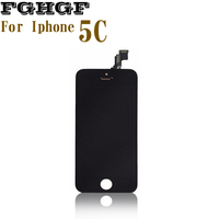 Mobile Phone LCD Display Screen For Iphone 5C With Touch Screen Grade AAA Quality 100 Tasted
