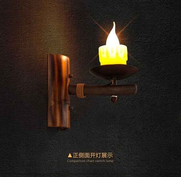 Wall Lights That Look Like Candles : Compare Prices on Wooden Candle Sconces- Online Shopping/Buy Low Price Wooden Candle Sconces at ...
