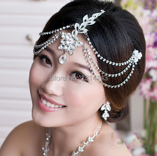 New Hot Sale Tiara Noiva Ts024 Small Wholesale Bridal Jewelry Wedding Luxury Five Leaves And Flowers Hair Accessories