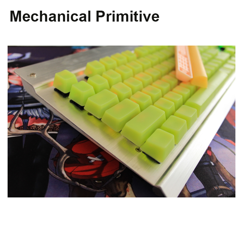 MP New Arrival 104 Silicone Keycaps Blank Keycaps OEM Height For Wired USB Cherry MX Switches Mechanical Keyboard Keycaps h1z1 battle royale game keycap r4 height alloy full metal keyboard keycaps for cherry mx switches teclado mecanico keycaps