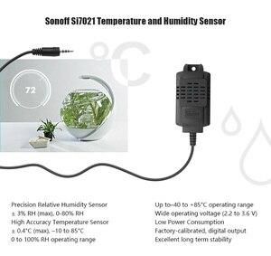 Image 2 - 5 قطعة/الوحدة Sonoff الاستشعار Si7021 درجة الحرارة الرطوبة الاستشعار التحقيق عالية الدقة رصد وحدة الاستشعار ل Sonoff TH10 Sonoff TH16