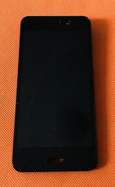 """Usato Originale Display LCD + Digitizer Touch Screen + Frame per Gretel A7 MTK6580A Quad Core 4.7 """"Il Trasporto Libero"""