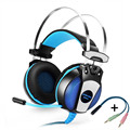 professinal computer headset Gaming Headphone Earphone Over-Ear Headband With Mic LED Light For Laptop / PS4 / Mobile Phones