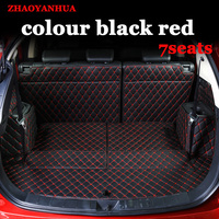 Custom fit car trunk mats for Mitsubishi Oulander Pajero sport Lancer ASX full surrounded car-styling