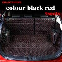 Custom fit esteiras mala do carro para mitsubishi pajero sport asx lancer oulander completo cercado car styling -