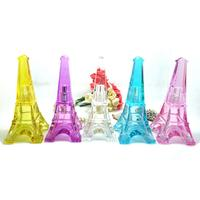 Wholesale 50pcs 30ml Eiffel Tower Glass Artwork Perfume Atomizer Scent Bottle Refillable Bottle