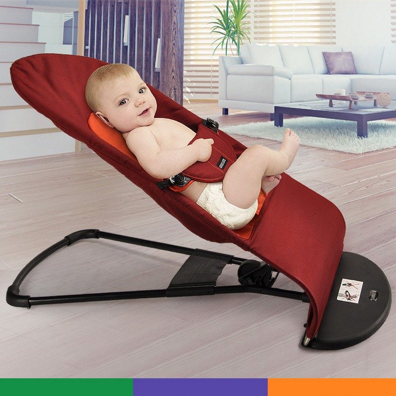 ФОТО 2017 Portable soft baby bed Novelty High Quality Baby Folding Baby Cradles Infant Baby Bouncer Balance Chair Soft stroller