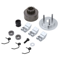 Bell Gear Flywheel 14T Clutch Shoe Spring Bearing Assembly Sets 83013 Alloy For HSP 1 8