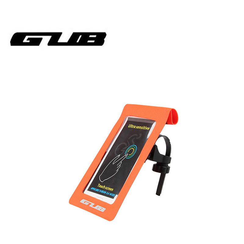 GUB 919 Bicycle Phone Bag Case Waterproof Touch Screen Cycling MTB Mountain Bike Frame Front Tube For 6 inch Phone bag