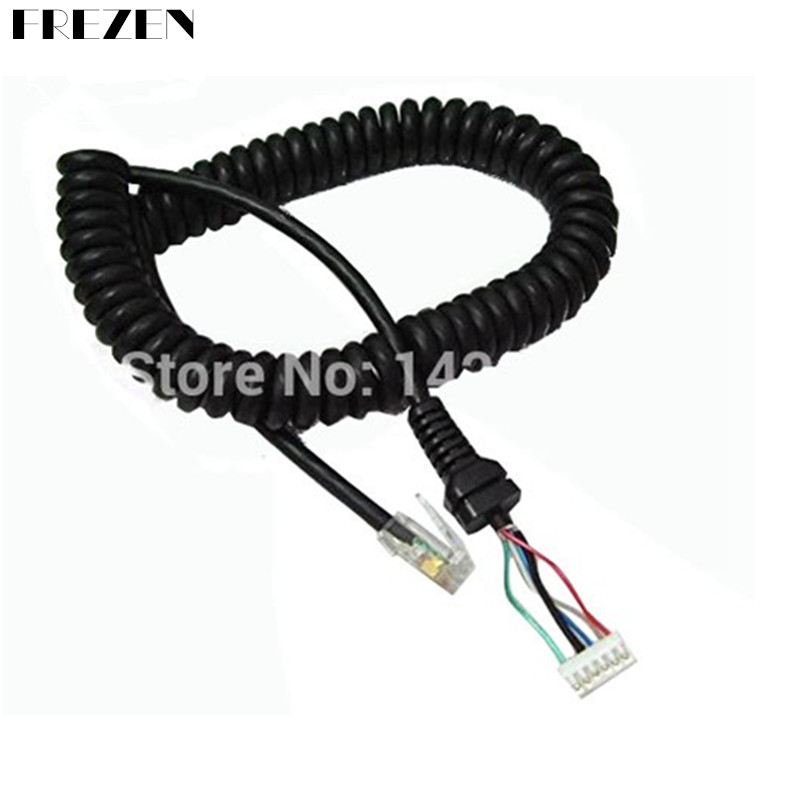 New Generic Replacement Mic Cable Cord Wire For YAESU MH-48A6J FT-7800 FT-8800 FT-8900 FT-7100M FT-2800M FT-8900R