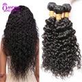 New Malaysian Water Wave Virgin Hair Unprocessed Malaysian Virgin Hair 3 Bundles  Cheap Malaysian Water Curly Human Hair Bundles