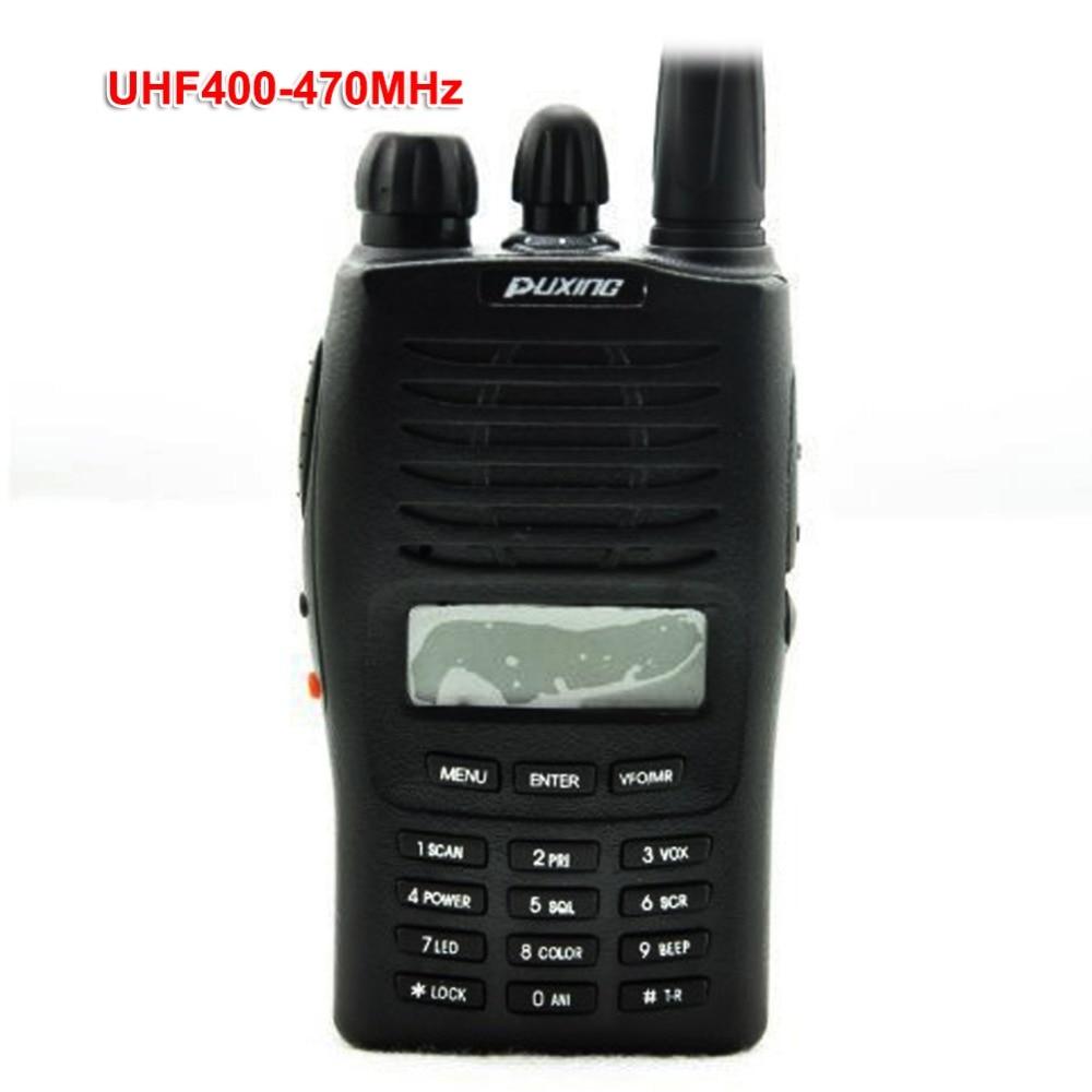 Puxing PX-777 Handheld Two Way Radio VHF136-174 Or UHF 400-470Mhz PX777 5W Walkie Talkie