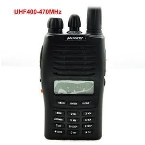 Image 1 - Puxing PX 777 Handheld Two Way Radio VHF136 174 or UHF 400 470Mhz PX777 5W Walkie Talkie