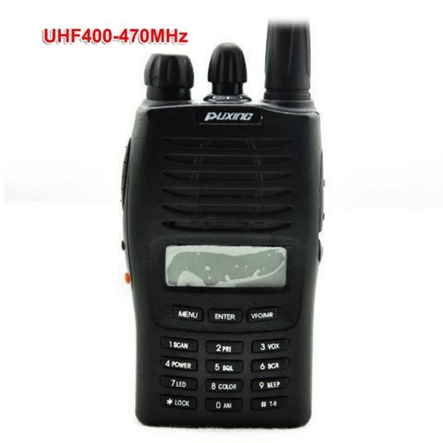 Puxing PX 777 Handheld Two Way Radio VHF136 174 or UHF 400 470Mhz PX777 5W Walkie Talkie
