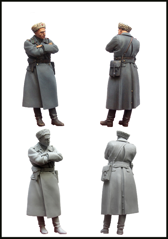 pre order-Resin toys Soviet officer.WW2.Set-3(43-45) Free shipping pre order resin toys s 3116 refugee girl europe 1939 45 free shipping