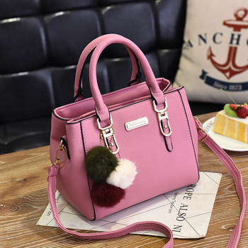 AiiaBestProducts Women Solid Color Handbag 4