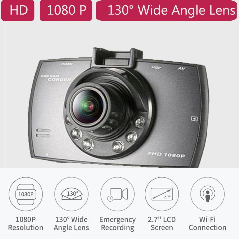 Car DVR Car Camera G30 2.4 Full HD 1080P Video Recorder Dash Cam 120 Degree Wide Angle Motion Detection Night Vision G-Sensor