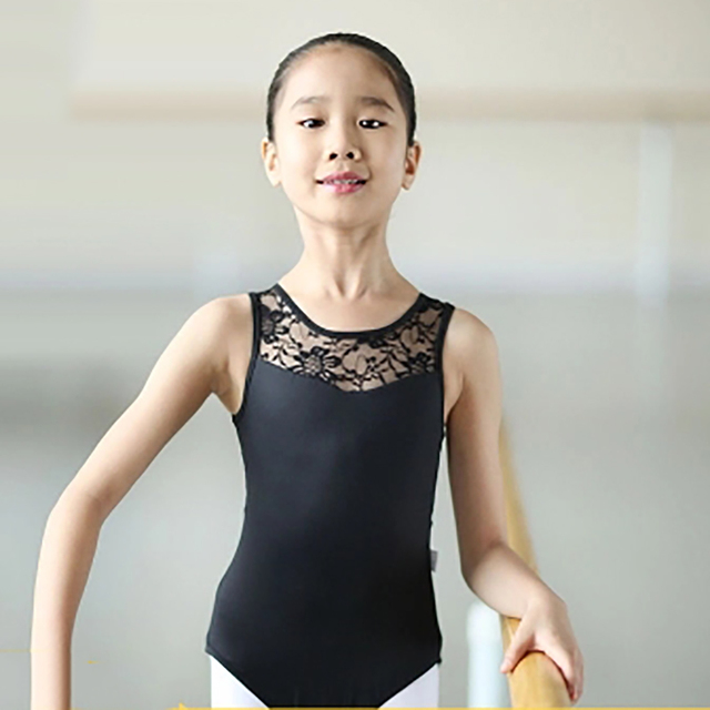 a340f64cda62 Aliexpress.com   Buy Kids Leotards Gymnastics Girls Lycra Cotton ...
