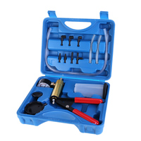 Car Vacuum Pistol Break Bleeder Fluid Reservoir Tester Tool Hand Held Kit Auto