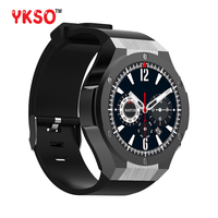 YKSO Smart watch Professional Waterproof smart clock H2 Wearable devices 3G Internet Memory bluetooth GPS smartwatch
