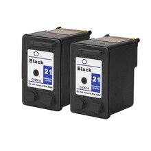 Для hp 21 черный картридж для HP21 21xl Deskjet F380 F2180 F2280 F4180 F4100 F2100 F2200 F300 D1500 D2300 принтер