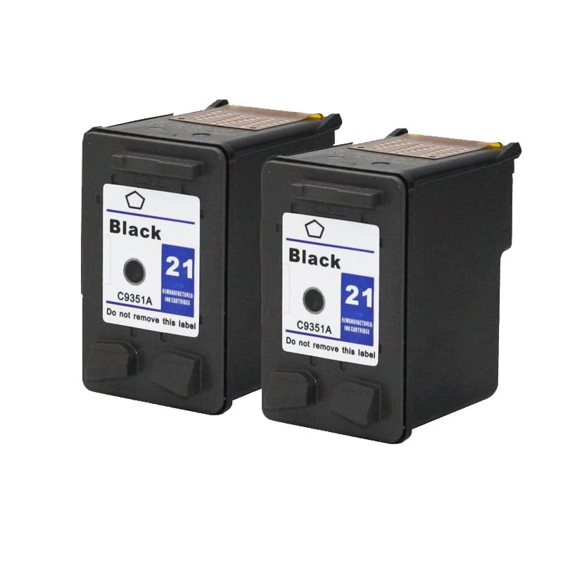 Für HP 21 Tintenpatrone Schwarz Für HP21 21xl Deskjet F380 F2180 F2280...
