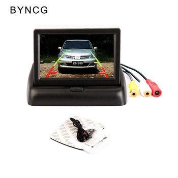 BYNCG Câmera de Visão Traseira Sem Fio 4.3