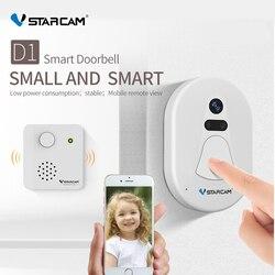 VStarcam Câmera Wi-fi Campainha Da Porta Campainha Da Porta Visor Da Porta de Armazenamento Em Nuvem Livre Foto de Visão Noturna de Segurança