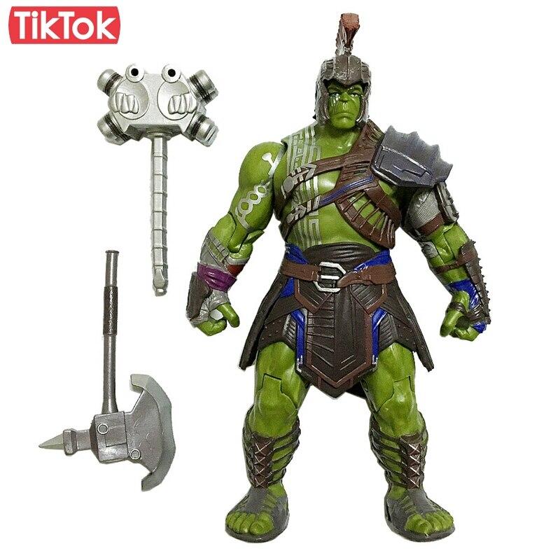 14 11 19 De Réduction Film Thor 3 Ragnarok Hulk Marteau Arène Guerrier Dessin Animé Jouet Figurine Modèle Poupée Cadeau In Action Figurines From