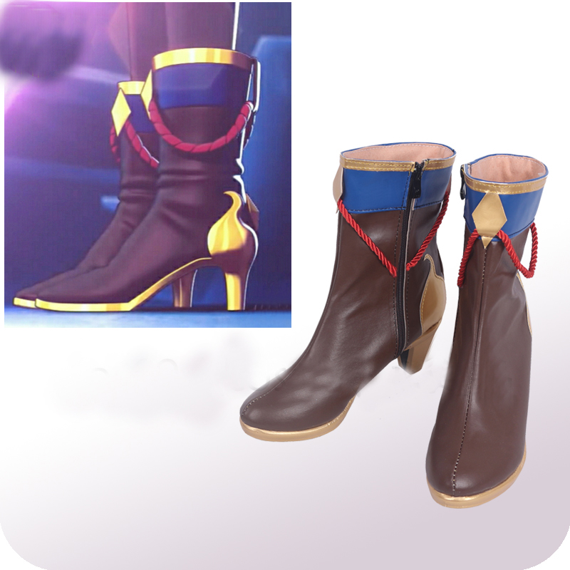 Monster Strike Metatron Cosplay Shoes Boots Halloween Carnival Cosplay Costume Accessories
