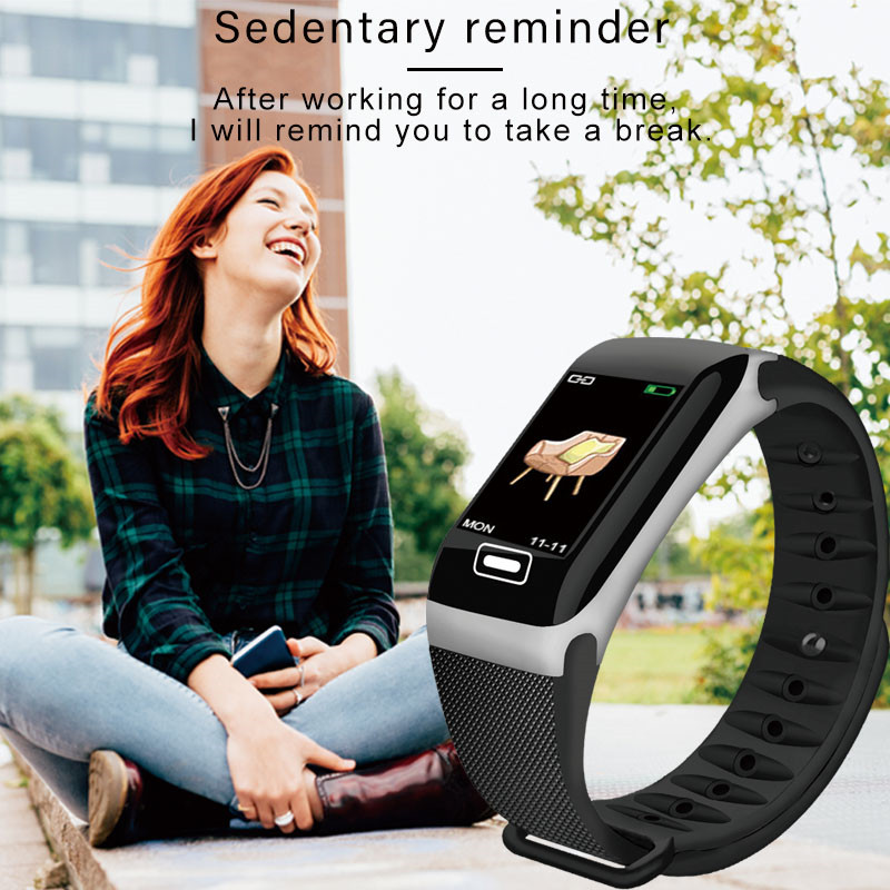 Image 4 - LIGE New Smart Bracelet Health Monitor Heart Rate / Blood Pressure / Waterproof Pedometer Sports Bracelet For Men Women's Watch-in Smart Wristbands from Consumer Electronics