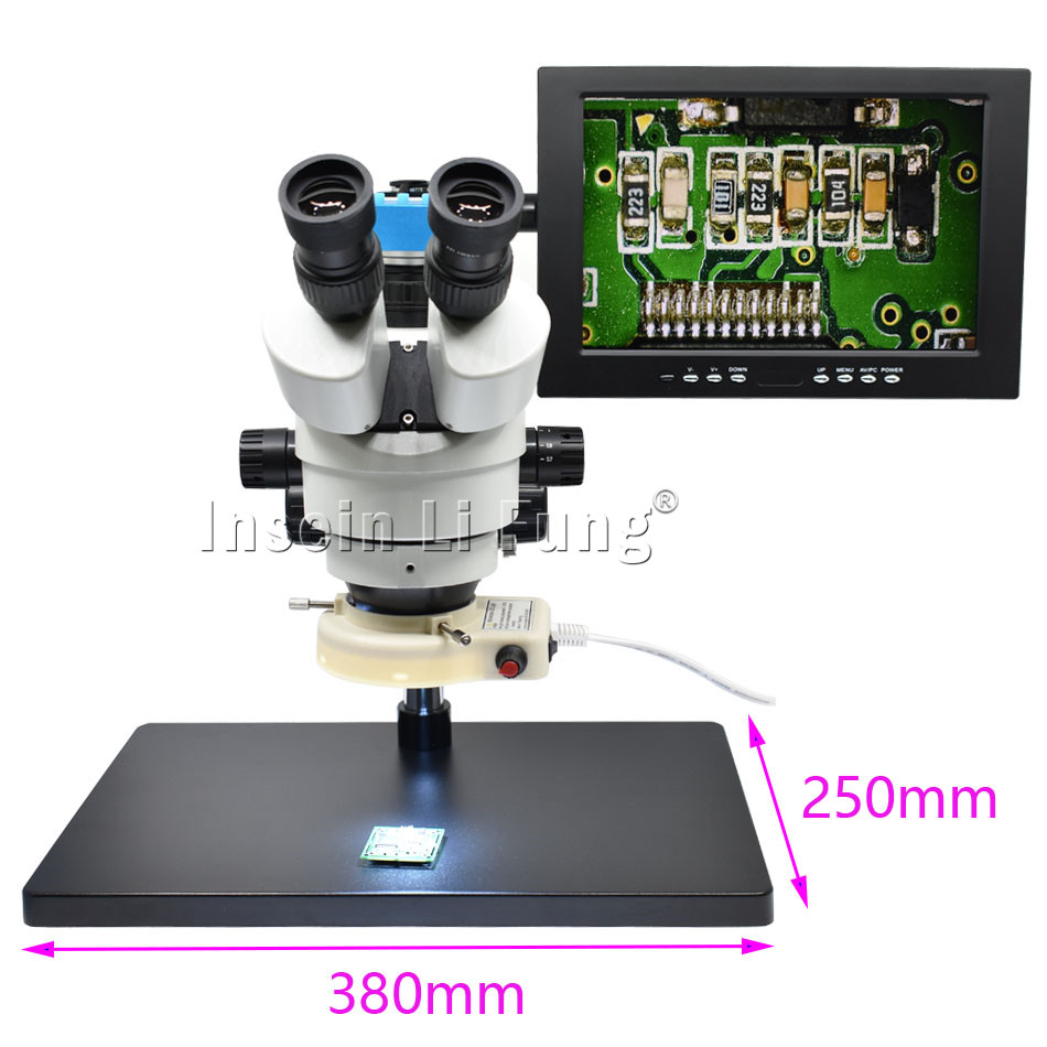 HD 34MP 2K 1080P 60FPS HDMI USB промышленный электронный цифровой видео паяльный микроскоп камера лупа для ремонта телефона - 6