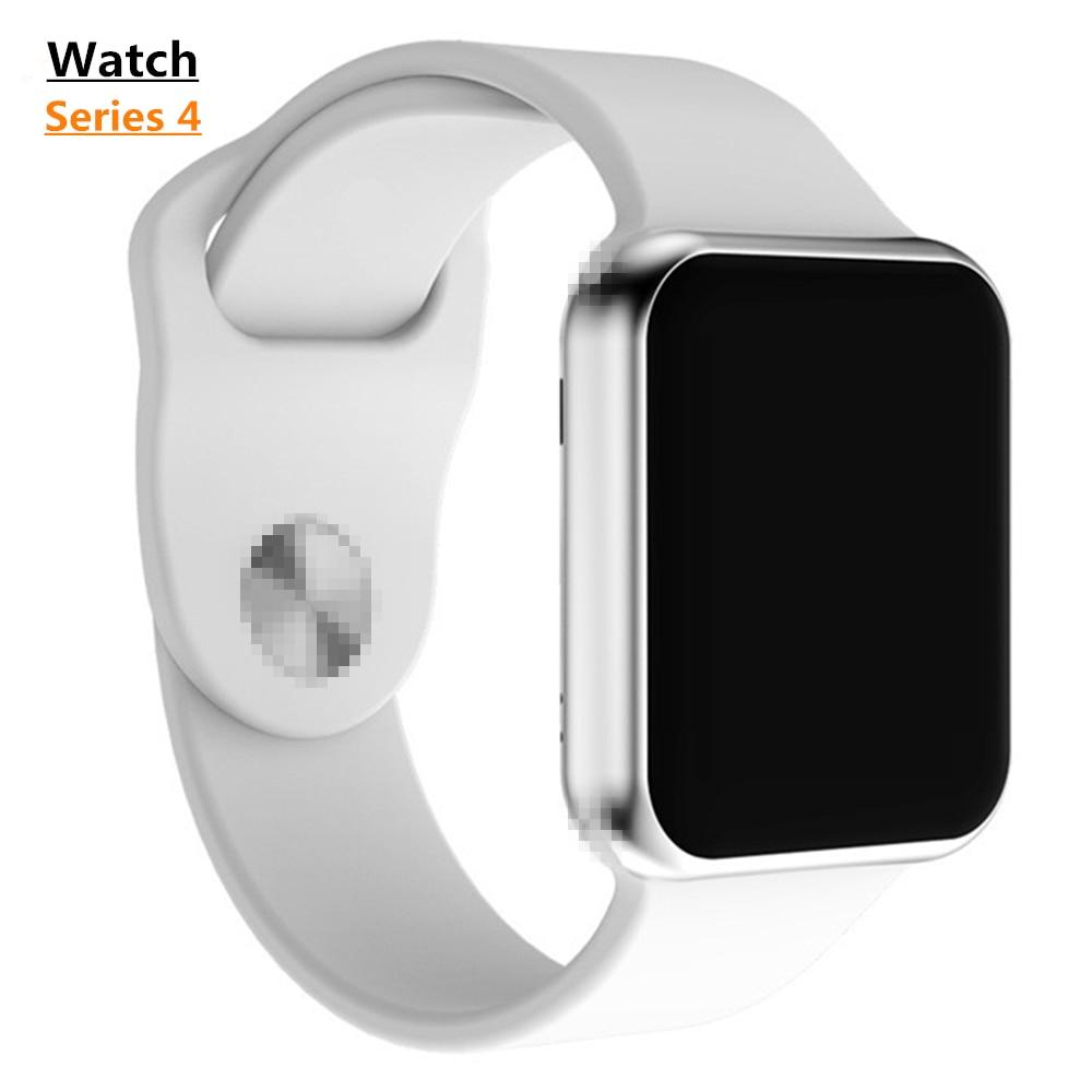 Nouveau IWO 9 44mm montre 4 montre intelligente iwo 8 plus 1:1 série 4 SmartWatch mise à niveau sport podomètre informations conseils pas Apple watch