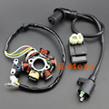 GY6 150 6 Pole MAGNETO STATOR COIL CDI BOX IGNITION COIL 150CC STOCK ATV GO KART MOPED free shipping