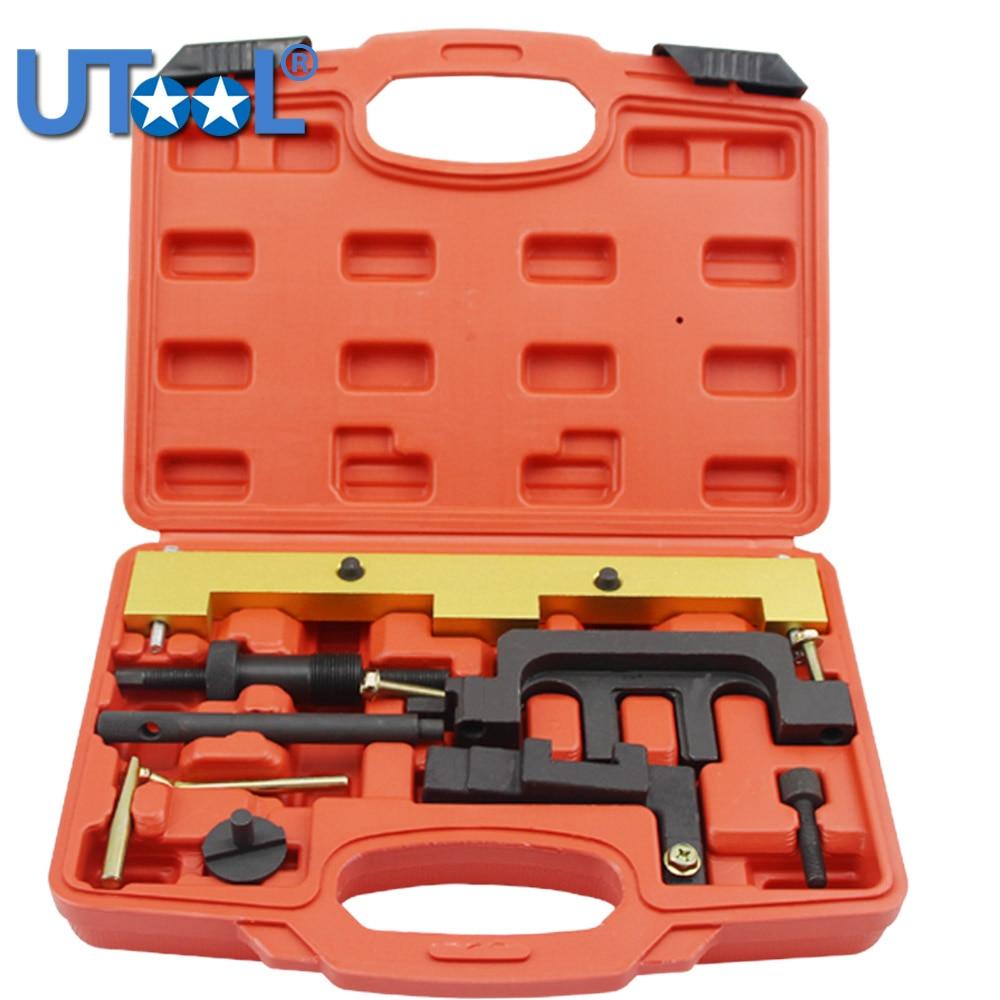 8 pièces essence arbre à cames moteur synchronisation verrouillage réglage Kit d'outils pour BMW 318I 320I 316I E87 E46 E60 E9 N42 N46 moteurs Auto outils