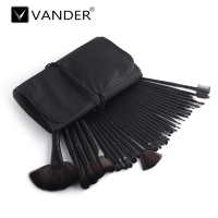 Professional 32 Pcs Vander Makeup Brushes Set Premium Function Blending Powder Foundation Make Up Tools Kit