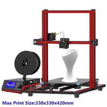 2017 Newest Tronxy X3S Desktop 3D Printer Quick install DIY kits Metal frame Electronic box 12864 LCD 8G SD off-line printing