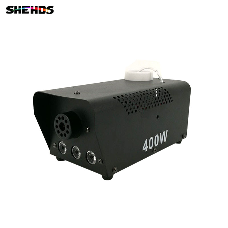 Hot  sale  wireless  remote  control LED  400W  RGB smoke  machine  stage  lighting Smoke effect is particularly good цена 2017