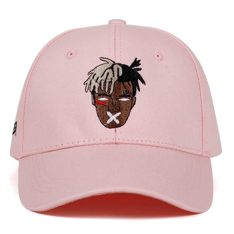 Cores Algodão Cantor 5 xxxtentacion Dreadlocks Cap Snapback Para Homens Mulheres Hip Hop Chapéu Pai Boné de Beisebol Osso Garros