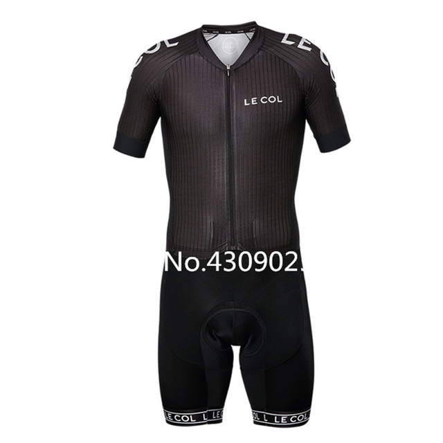 39cb89184 WIGGINS Triathlon sport custom LE COL cycling jersey Sexy maillot ciclismo  hombre cycling ciclismo Runing and Highway Skinsuit
