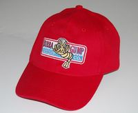 Bubba Gump Shrimps Co Kappe Rot CAP Forrest Gump Halloween Party