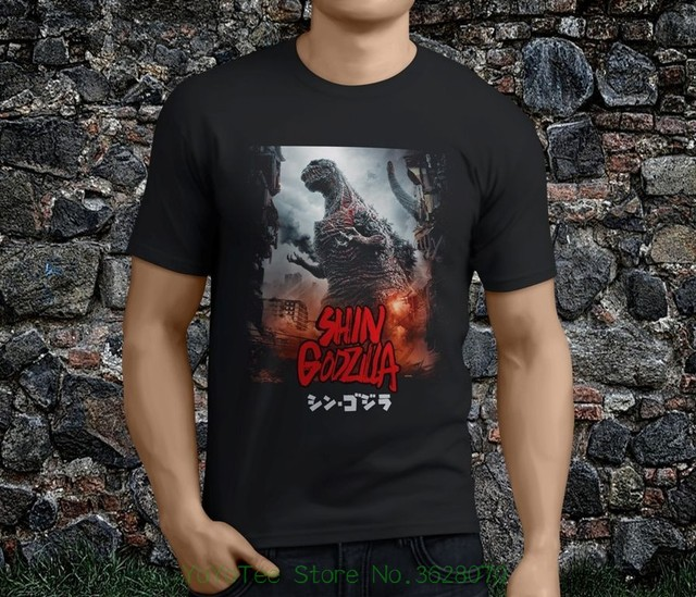 6412c626 Mens Print T-shirt 100% Cotton New Hot Popular Shin Godzilla Resurgence  Japan Monster Black Men' ; S Tshirt S - 3xl